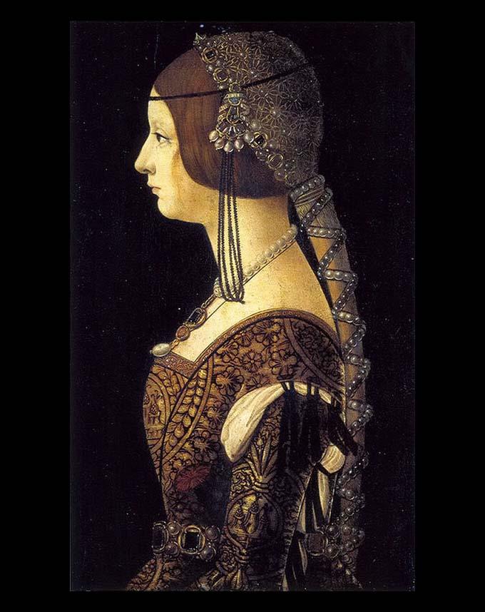 21c2f813ac00b Ambrogio De Predis - Ritratto di Bianca Maria Sforza - National Gallery of  Art